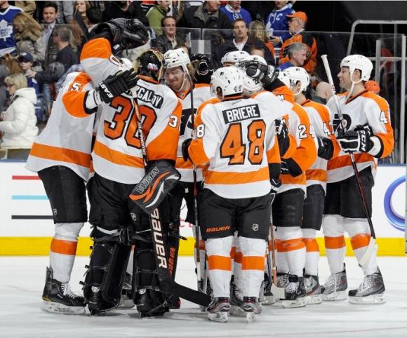 Flyers Beat Leafs