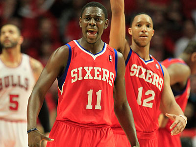 Jrue Holiday Sixers Beat Bulls Game 2