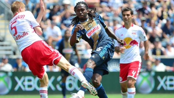 Union fall to Red Bulls