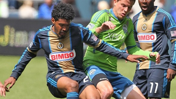 Union lose to Sounders 1-nil