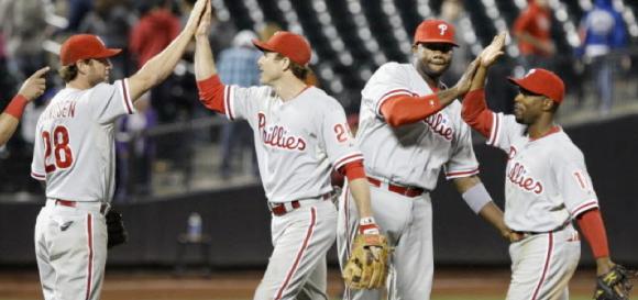 Phillies Infielders 2012