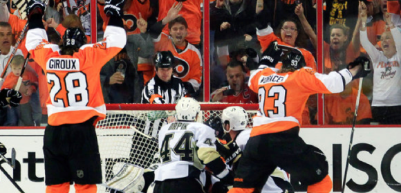 Flyers Penguins