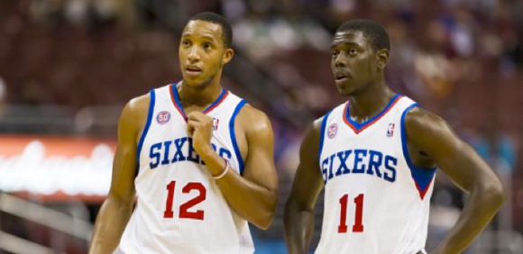 Evan Turner Jrue Holiday