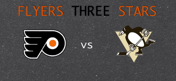Flyers 3 Stars vs Penguins