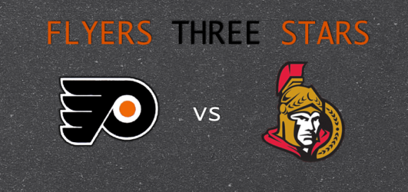 Flyers 3 Stars vs Senators