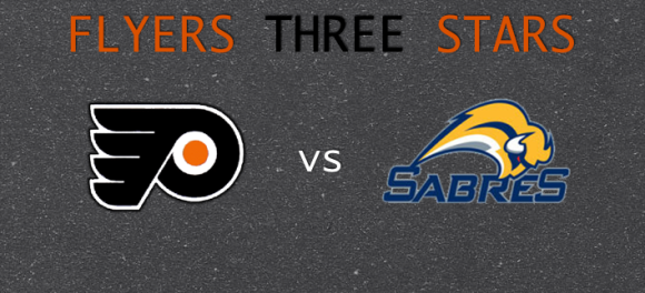 Flyers 3 Stars vs Sabres