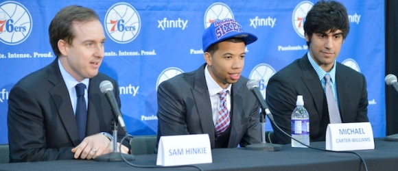 76ers Draft Press Conference