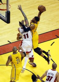 (Paul George dunk on Chris Anderson)