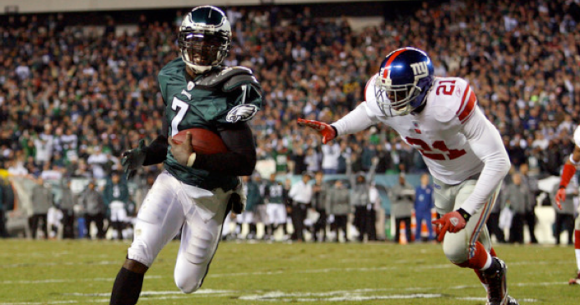 Michael Vick Touchdown vs Giants