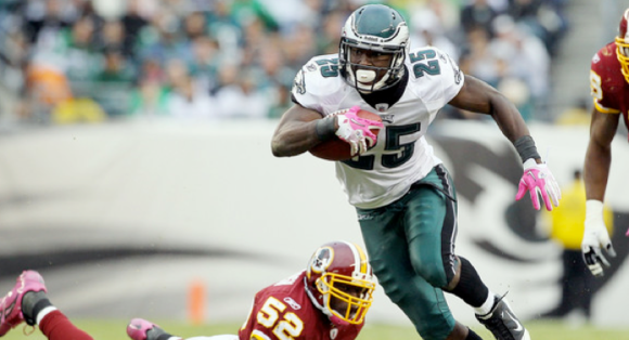 LeSean McCoy Eagles Redskins