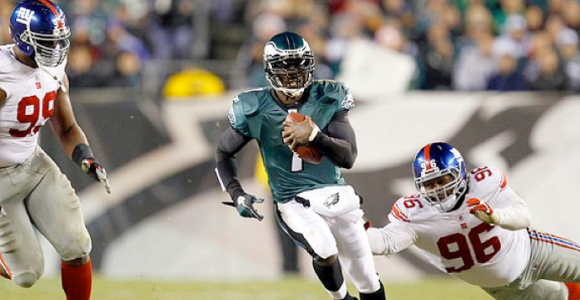 Michael Vick vs Giants