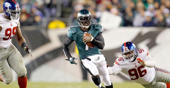 Michael Vick vs Giants