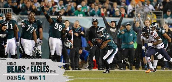 eagles win!