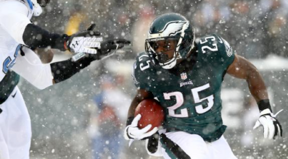 LeSean McCoy Snow Bowl