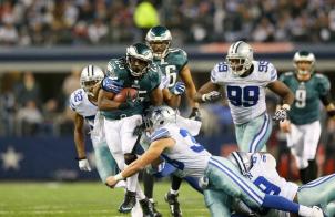 McCoy ran roughshod over the Cowboys D.