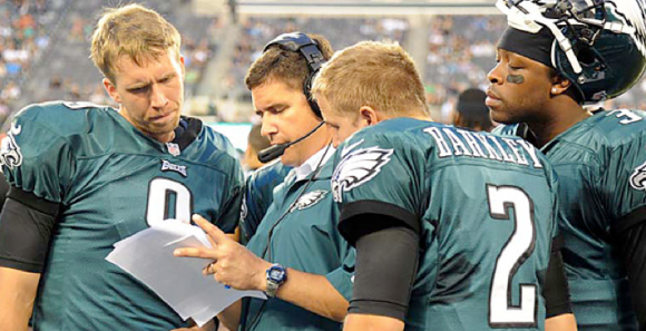 Bill Lazor Eagles QB Coach