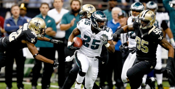 LeSean McCoy vs Saints