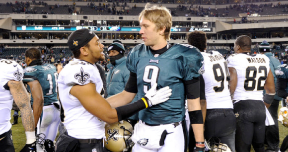 Nick Foles vs Saints
